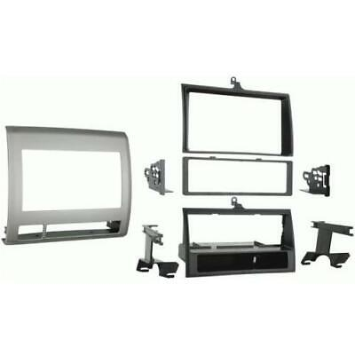 Metra 99-8214TG Textured Gray Single/Double DIN Dash Kit for 05-up Toyota Tacoma