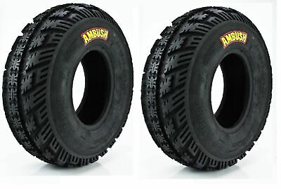 TWO NEW CST AMBUSH SPORT ATV TIRES (2) 23-8-12 , 23x8x12 front