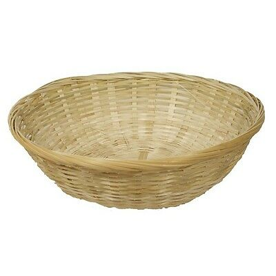 10 inch round wicker hamper basket for fruit bread or gift hampers Pack of 5