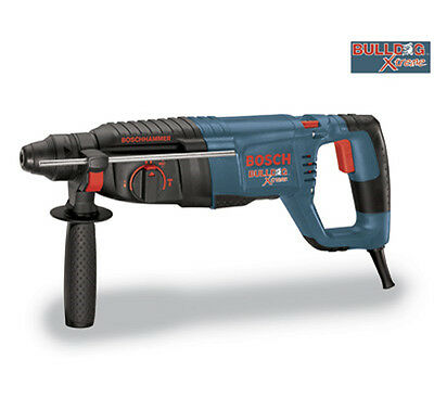 "Bosch 11255VSR BULLDOG Xtreme 1"" SDS plus D Handle Rotary Hammer with WARRANTY"