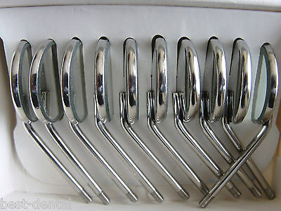 10 dental mouth mirrors dental instruments from UK MIRROR SIZE  4