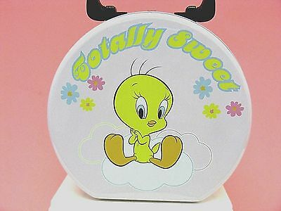 "Looney Tunes  -  Tweety Round Tin Tote  ""totally Sweet"""