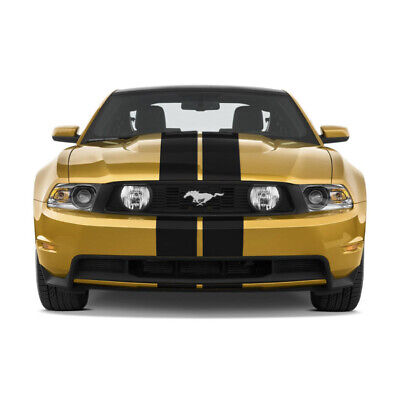 "7"" VINYL RALLY STRIPES RACING STRIPE KIT DECAL KIT For FORD MUSTANG"