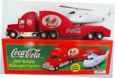 2000 Camion Coca Cola Natalizio Camioncino, Elicottero Holiday Truck, Helicopter