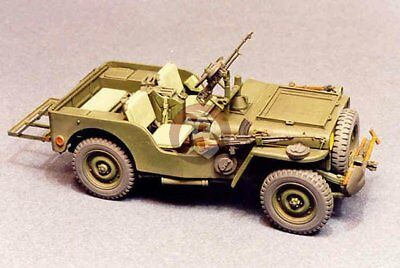 """351156A Resicast 1//35 Airborne Jeep /""""Signals/"""" Accessories Set for Bronco Jeep"""