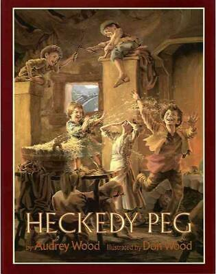 Heckedy Peg by Audrey Wood (English) Paperback Book Free Shipping!