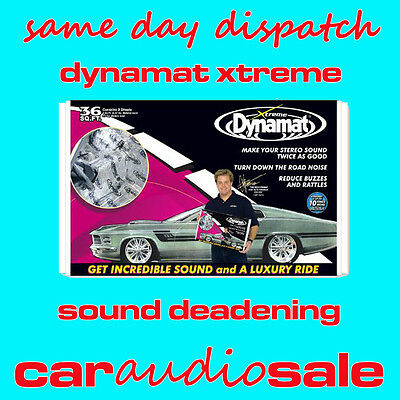 Dynamat Xtreme Extreme Bulk Pack Kit 10455 Sound Deadening Proofing Material