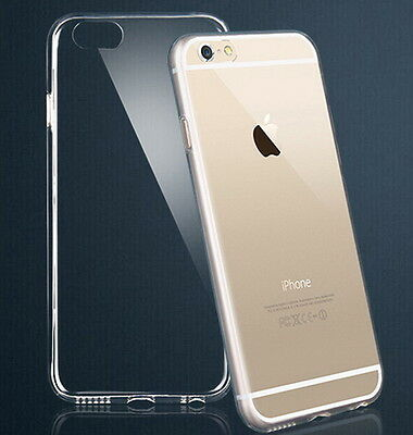 Ultra Thin Crystal Hard Clear Transparent Case Cover Protector iPhone 6 6S 4.7''