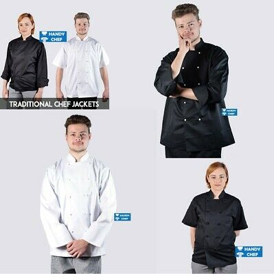 Premium Quality Chef Jackets - See Handy Chef Store for Chef Pants, Chef Caps