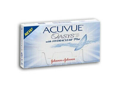 Acuvue OASYS Hydraclear PLUS  2×6  Non-Stop-Linsen 2-Wochenlinsen  Neu&OVP