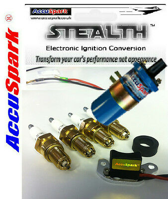 Triumph TR7 Stealth Electronic ignition conversion kit/ Ballast Coil/AC12C Plugs