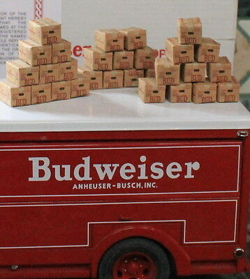 One Budweiser  Beer Case  1:24 G Scale Miniature New!!