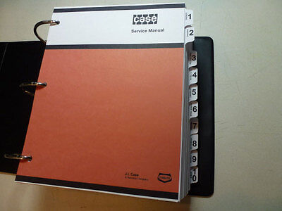 Case 4490/4690 Tractor Service Manual Repair Shop Book NEW with Binder