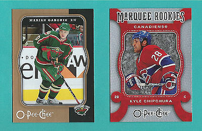 2007-08 O-Pee-Chee Hockey Cards - You Pick To Complete Your Set