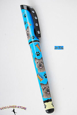 Cairn Terrier Dog Pen Replaceable Ballpoint Black Ink