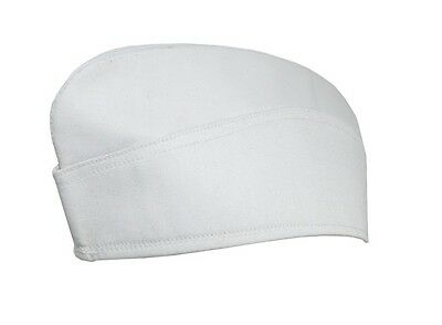 Kriegsmarine EM / NCO White Sidecap - WW2 Repro Navy Side Cap Hat White Sailor