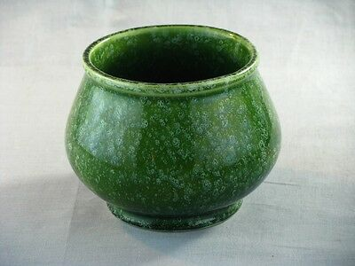 Vintage Hull Speckled Green Pottery Planter  Marked USA 44