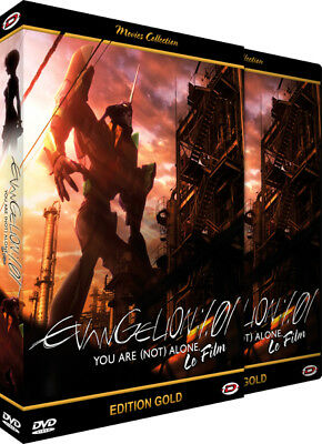 ★ Evangelion : 1.01 - You are [not] alone ★ Le Film - Edition Gold - DVD