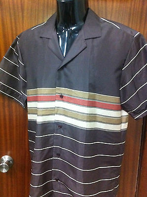 Vintage Pacifica POLYESTER Australia Surf SHORT SLEEVE SHIRT