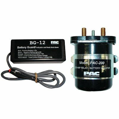PAC SPR-200 Dual Battery Isolator and Monitor