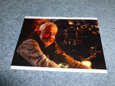 MIKE LEIGH signed Autogramm 20x28 cm In Person