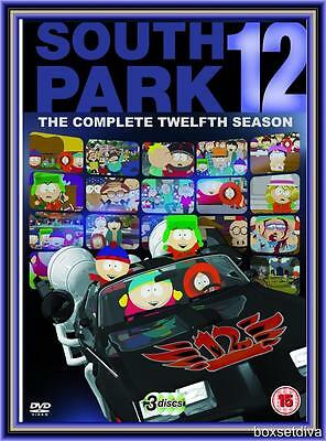 SOUTH PARK  - COMPLETE SEASON 12 (re-pack) **BRAND NEW DVD BOXSET **