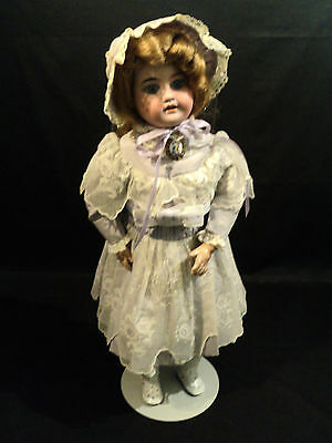 """Beautiful Antique Armand Marseille Bisque Head, Composition Body, 20"""" Doll"""