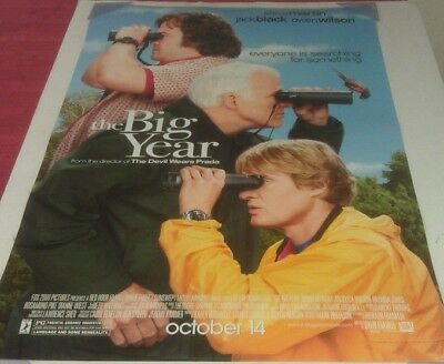 THE BIG YEAR MOVIE POSTER 2 Sided ORIGINAL FINAL 27x40 STEVE MARTIN