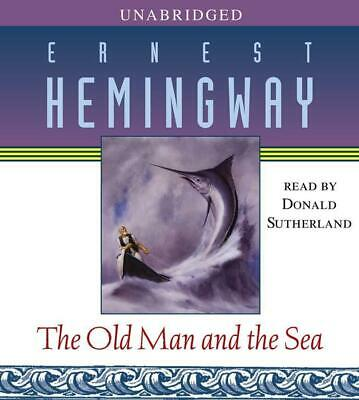 The Old Man and the Sea by Ernest Hemingway (English) Compact Disc Book Free Shi