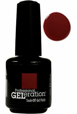 Jessica Geleration Soak-off Gel Nail Polish Merlot #290 0.5oz