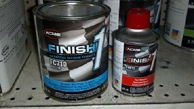 Auto Paint SHERWIN WILLIAMS FC710 QT Finish1 Ultimate Spot Panel CLEAR COAT KIT
