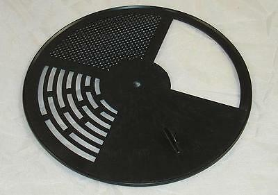 Entrance Reducer -  Top Bar Hive - Rotating Bee Hive Nuc Entrance Disc - Black