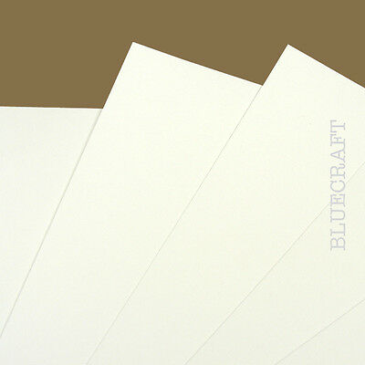 40 x A6 White Prestige Blank Invitation Cards 400gsm - Weddings Parties Events