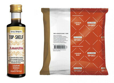 Amaretto Liqueur Recipe Pack - Still Spirits