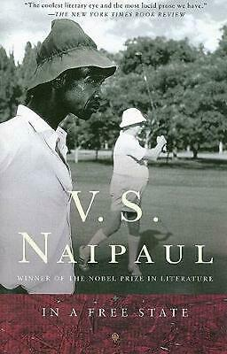 In a Free State by V.S. Naipaul Paperback Book (English)