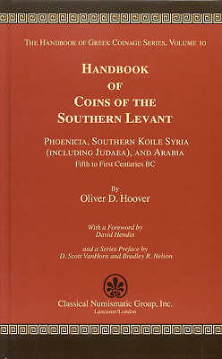 Pfj - Handbook Coins Of The Southern Levant