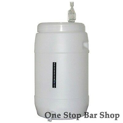 Fermenter 30L with Window lid complete - Home Brew - Beer Wine Spirits -