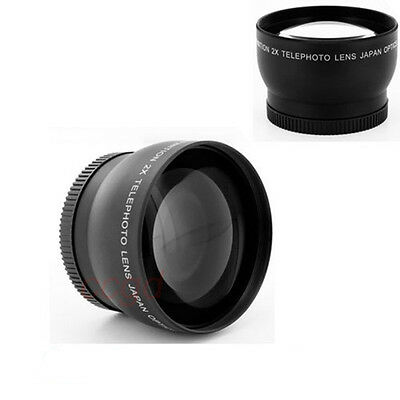 67mm High Definition  HD 2x Telephoto Conversion lens for Canon Nikon SLR Camera