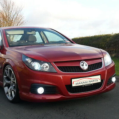 Vauxhall / Opel VECTRA C / SIGNUM FACELIFT Headlight brows lids eyebrows ABS