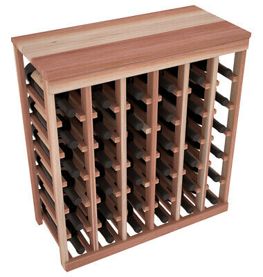 36 Bottle Kitchen Wine Rack Premium Redwood. Perfect Home Decor. Free Shipping!