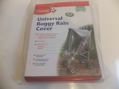 Clippasafe Universal Buggy Rain Cover - Brand New