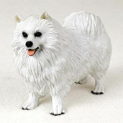 Samoyed Hand Painted Collectible Dog Figurine