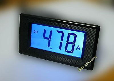 DC +/-9.99A 0-10A Forward Reverse Digital Current Meter Ammeter With Shunt MZ