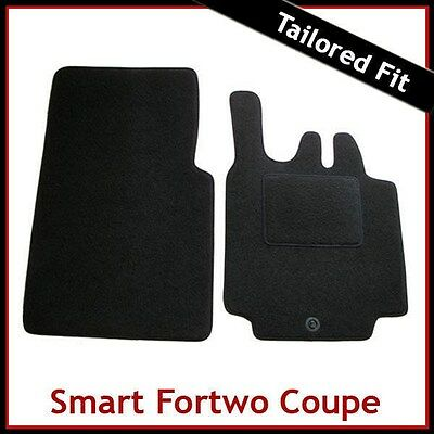 Tailored Deluxe Quality Car Mats Smart ForTwo Convertible 2004-2007 ** Black **