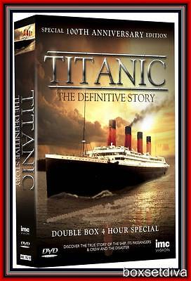 TITANIC -THE DEFINITIVE STORY- Special 100th Anniversary Edition **BRAND NEW DVD