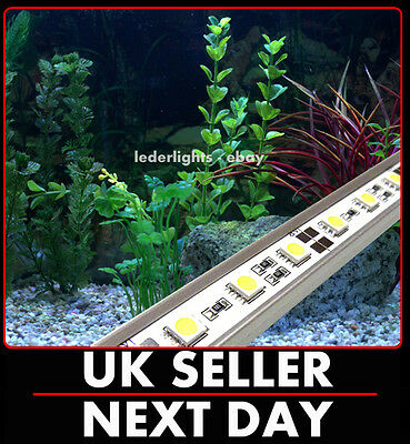 Led Strip / Rigid Bar Aquarium Set White Fish Tank Lighting Fully Submersible