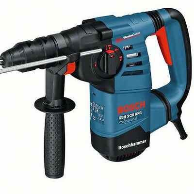 Bosch GBH 3-28 DFR 3kg SDS+ Rotary Hammer Drill with 2 Quick Change Chucks 110V