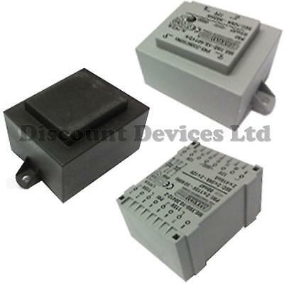 Encapsulated Mains Insulated PCB Power Transformers 230 / 6V - 24 VAC V AC