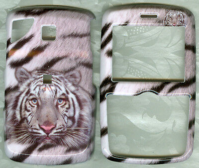 WHITE TIGER FACEPLATE PHONE COVER SNAP ON CASE PANTECH REVEAL C790 AT&T