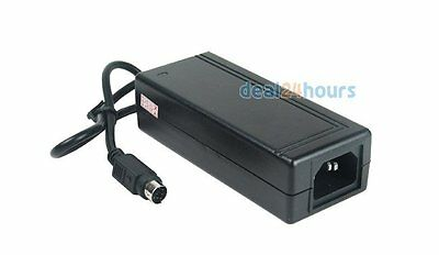 6 PINS HDD Docking 2A 12V+5V DC-AC Power Supply Adapter